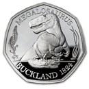 2020 Great Britain Silver Proof 50p Megalosaurus