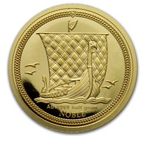 2020 Isle of Man 1/2 Gram Gold Noble Proof