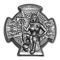 2020 Isle of Man 3 oz Silver Warrior Queen: Boudica
