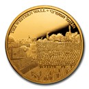 2020 Israel 1 oz Gold Views of Jerusalem: Western Wall