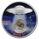 2020 Mesa Grande 1 oz Silver Area 51 Proof