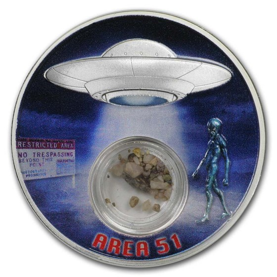 2020 Mesa Grande 1 oz Silver Area 51 Proof