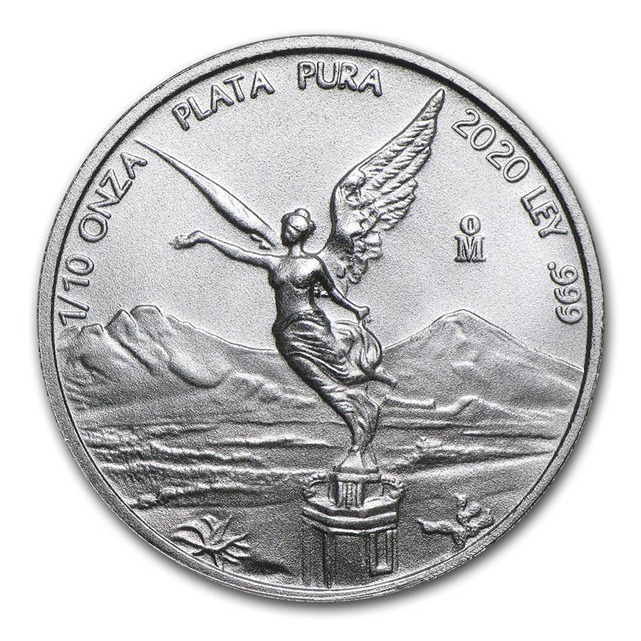 2018 Mexico 1 Onza Libertad Pepper 1 Oz Silver Coin