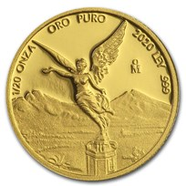 2020 Mexico 1/20 oz Proof Gold Libertad