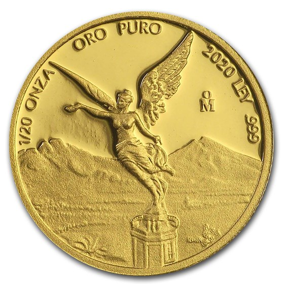 2020 Mexico 1/20 oz Proof Gold Libertad