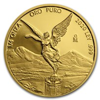 2020 Mexico 1/4 oz Proof Gold Libertad