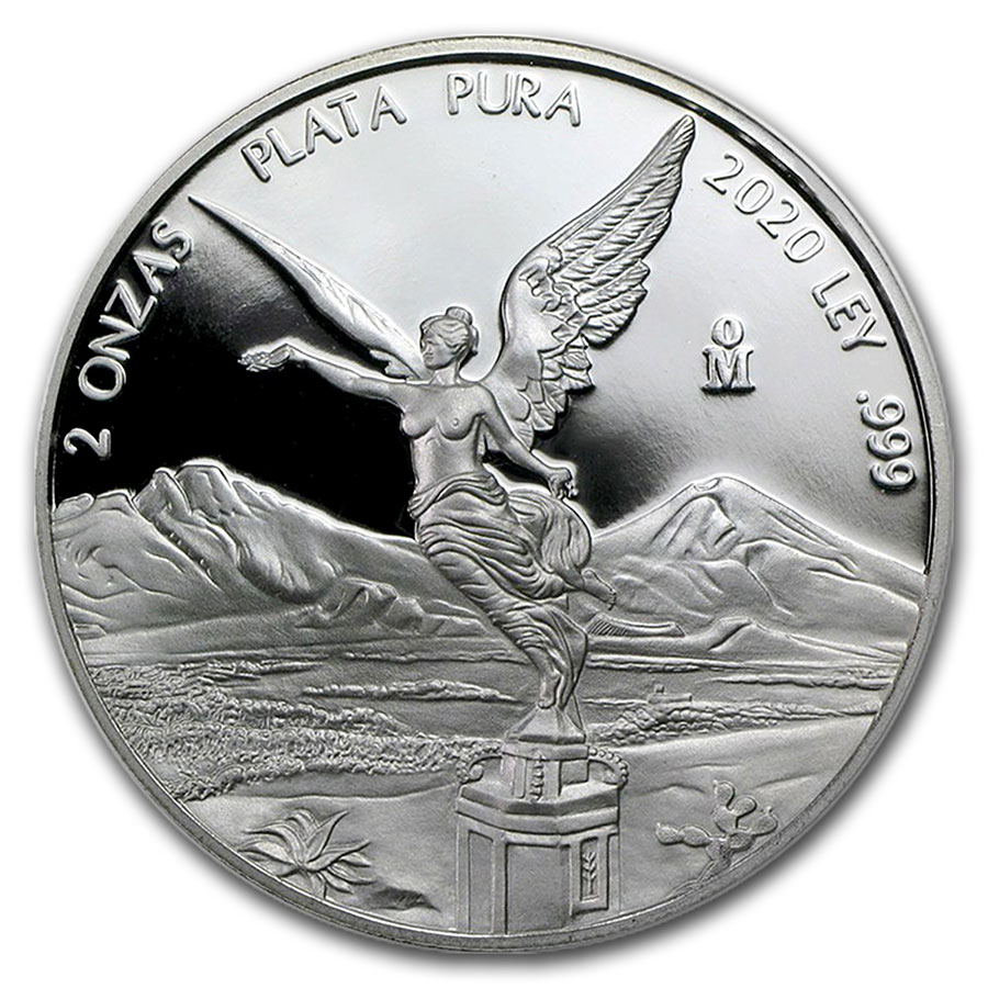 Coin in Capsule Mintage of 3,050 ONLY !! 2017 2 oz Silver Libertad PROOF !