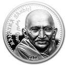 2020 Mongolia 1 oz Silver Revolutionaries (Mahatma Gandhi)