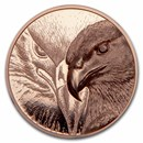 2020 Mongolia 50 gram Copper Proof Majestic Eagle