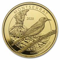 2020 Montserrat 1 oz Gold Oriole BU