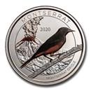 2020 Montserrat 1 oz Silver Oriole (Colorized)