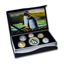 2020 New Zealand 6-Coin 1 oz Silver Currency Proof Set