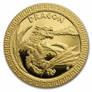 2020 Niue 1/10 oz Gold Proof Mythical Creatures: Dragon