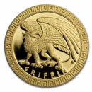 2020 Niue 1/10 oz Gold Proof Mythical Creatures: Griffin