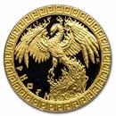 2020 Niue 1/10 oz Gold Proof Mythical Creatures: Phoenix