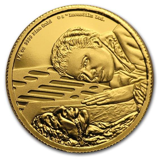 2020 Niue 1/4 oz Gold Star Wars Lando Calrissian (Box & COA)