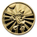 2020 Niue 1/4 oz Proof Gold $25 Disney: Daisy Duck