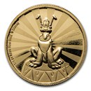 2020 Niue 1/4 oz Proof Gold $25 Disney: Pluto
