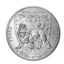 2020 Niue 1 kilo Silver Czech Lion BU