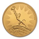 2020 Niue 1 oz Gold $250 Disney Lion King The Circle of Life BU