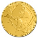 2020 Niue 1 oz Gold $250 Star Wars: Darth Vader BU