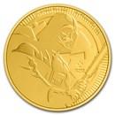 2020 Niue 1 oz Gold $250 Star Wars: Darth Vader BU