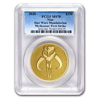 2020 Niue 1 oz Gold $250 Star Wars: Mythosaur MS-70 PCGS (FS)