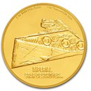 2020 Niue 1 oz Gold $250 Star Wars Star Destroyer