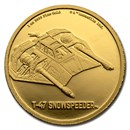 2020 Niue 1 oz Gold $250 Star Wars T-47 Snowspeeder