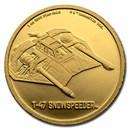 2020 Niue 1 oz Gold $250 Star Wars T-47 Snowspeeder