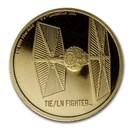 2020 Niue 1 oz Gold $250 Star Wars TIE/LN Fighter