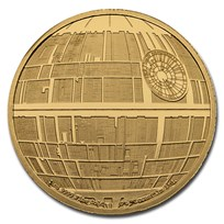 2020 Niue 1 oz Gold Star Wars Death Star (Box & COA)