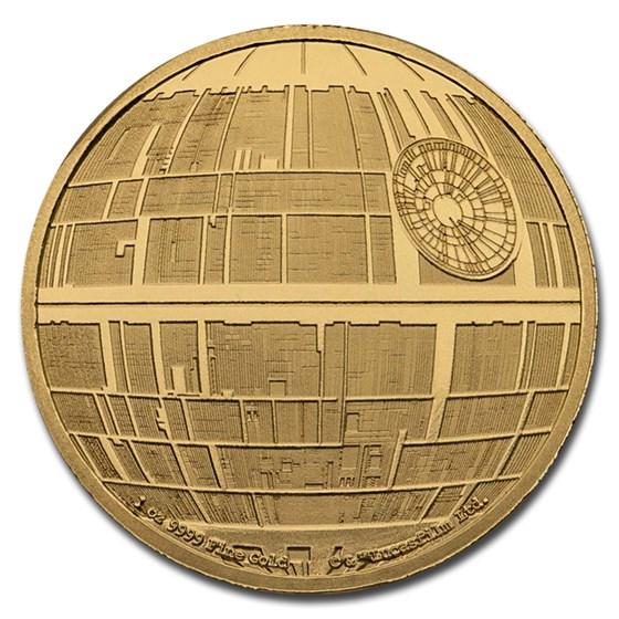 2020 Niue 1 oz Gold Star Wars Death Star (Box & COA)