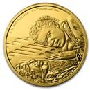 2020 Niue 1 oz Gold Star Wars Lando Calrissian (Box & COA)