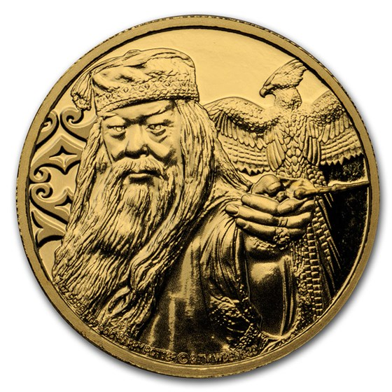 2020 Niue 1 oz Proof Gold: Albus Dumbledore