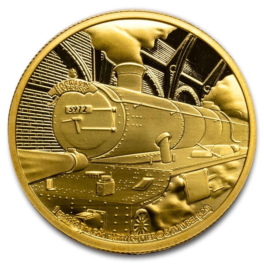 2020 Niue 1 oz Proof Gold - Hogwarts Express