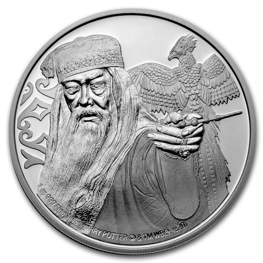 2020 Niue 1 oz Proof Silver: Albus Dumbledore