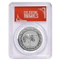 2020 Niue 1 oz Silver $2 Celestial Animal Phoenix MS-69 PCGS (FS)