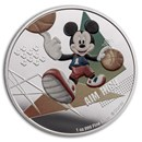 2020 Niue 1 oz Silver $2 Disney Mickey Mouse: Aim High