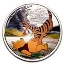 2020 Niue 1 oz Silver $2 Disney Winnie the Pooh - Pooh & Tigger
