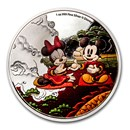 2020 Niue 1 oz Silver $2 Disney Year of the Mouse - Good Fortune