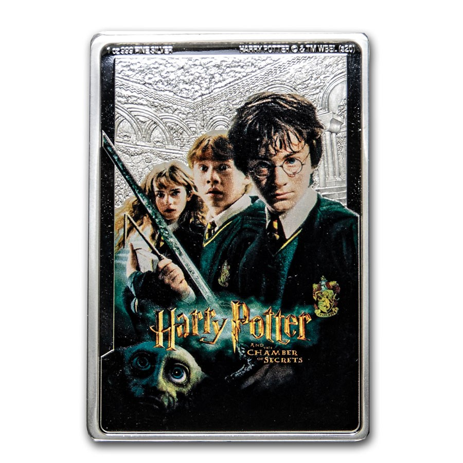 2020 Niue 1 oz Silver $2 Harry Potter and the Chamber of Secrets