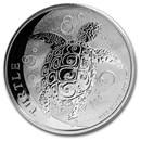 2020 Niue 1 oz Silver $2 Hawksbill Turtle BU