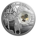 2020 Niue 1 oz Silver $2 In the Footsteps of Jesus Jordan River