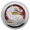 2020 Niue 1 oz Silver $2: Mortal Kombat Proof