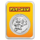 2020 Niue 1 oz Silver $2 PAC-MAN™ 40th Anniversary Coin in TEP
