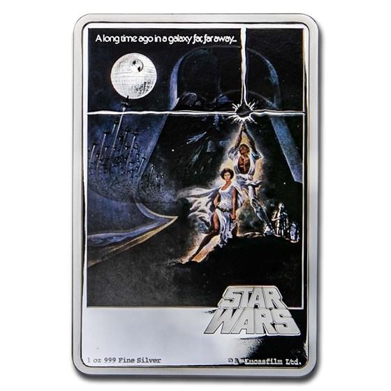 2020 Niue 1 oz Silver $2 Star Wars - A New Hope