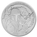 2020 Niue 1 oz Silver $2 Star Wars: Boba Fett BU