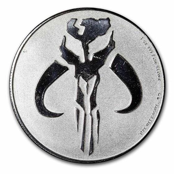 2020 Niue 1 oz Silver $2 Star Wars: Mythosaur Coin BU (Scruffy)
