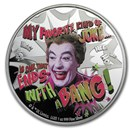 2020 Niue 1 oz Silver Batman '66: The Joker
